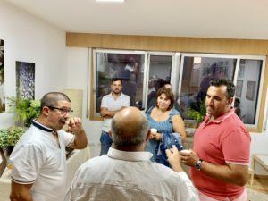 inauguración nova consulta Ánxela Abelenda en Carballo
